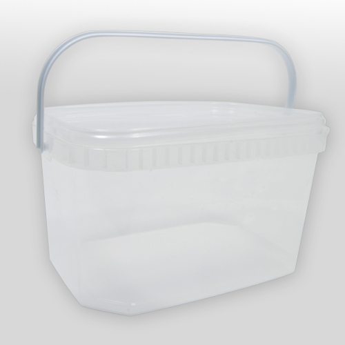 seau rectangulaire 5 litres plastique alimentaire tunisie seau rectangulaire ecrinplast. Black Bedroom Furniture Sets. Home Design Ideas
